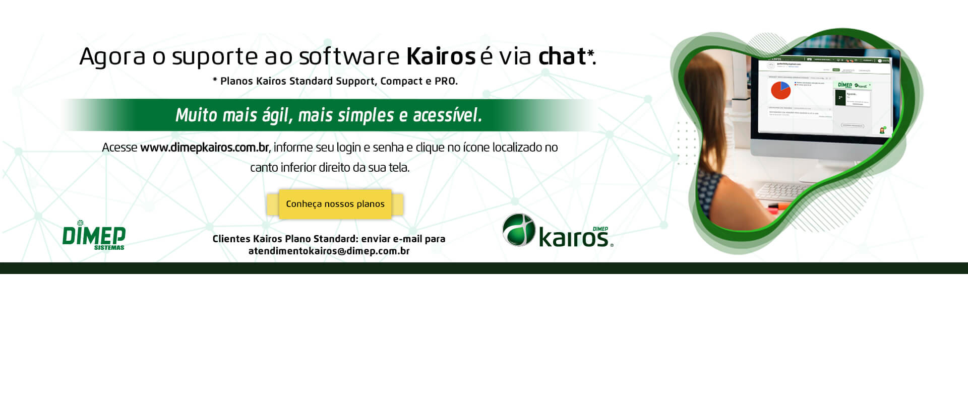Atendimento Kairos via chat