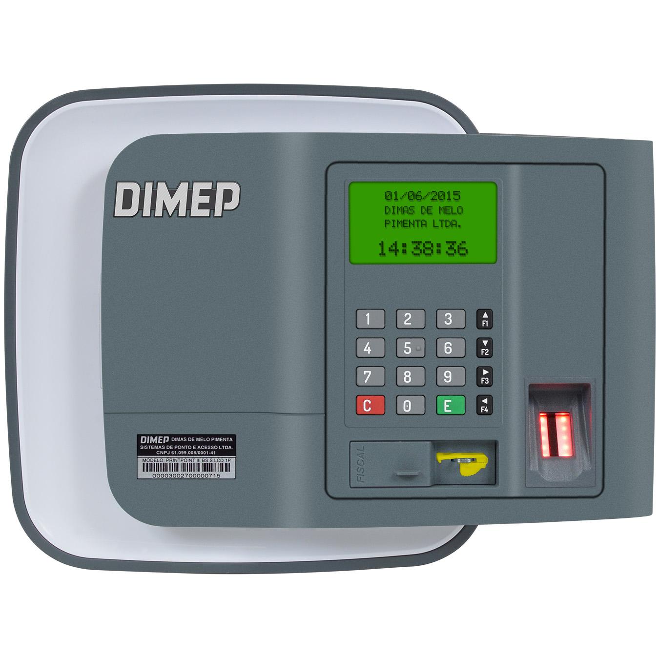 Relógio de Ponto Biométrico Timepoint V